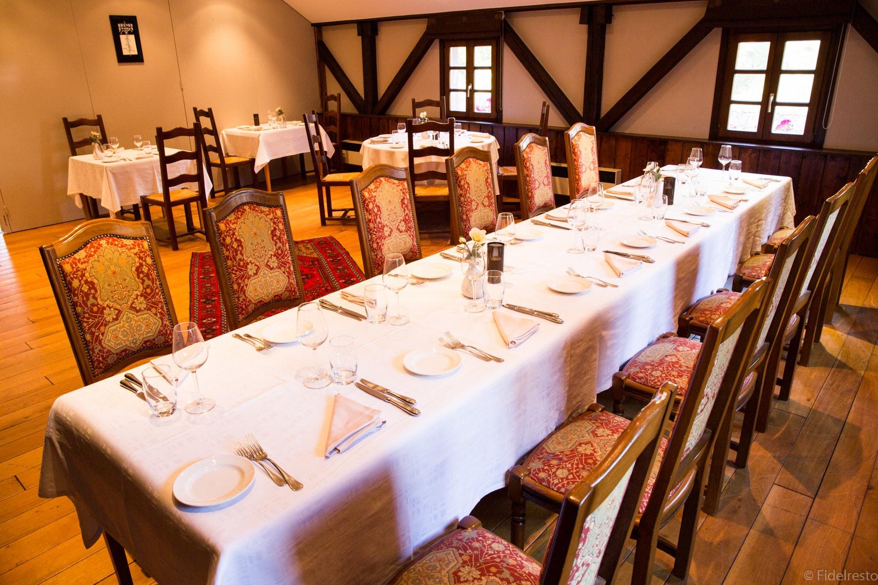 table restaurant auerge bruche
